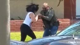 video polizia americana