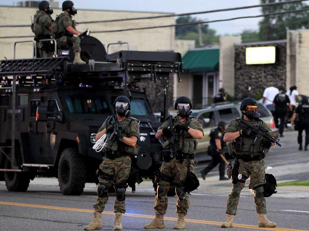 militarizzazione polizia